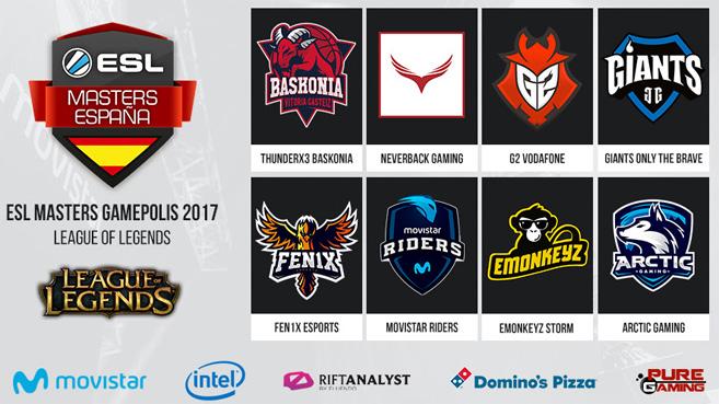 RiftAnalyst patrocina la Arena de LoL en ESL Masters Gamepolis