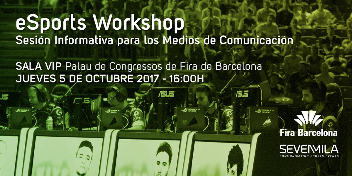 """Fluendo participará en el """"eSports Workshop"""""""