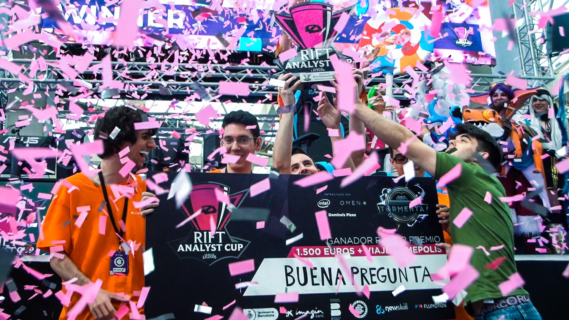 Buena Pregunta se alza con la copa de la RiftAnalyst Cup, primera parada del Circuito Tormenta de Riot