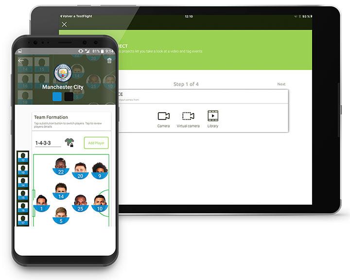 Creando proyectos con LongoMatch Mobile