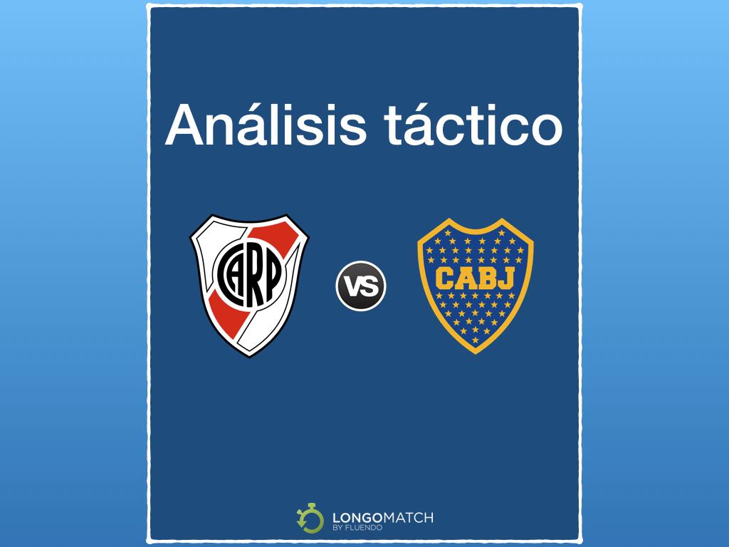 Análisis táctico River Plate-Boca Juniors