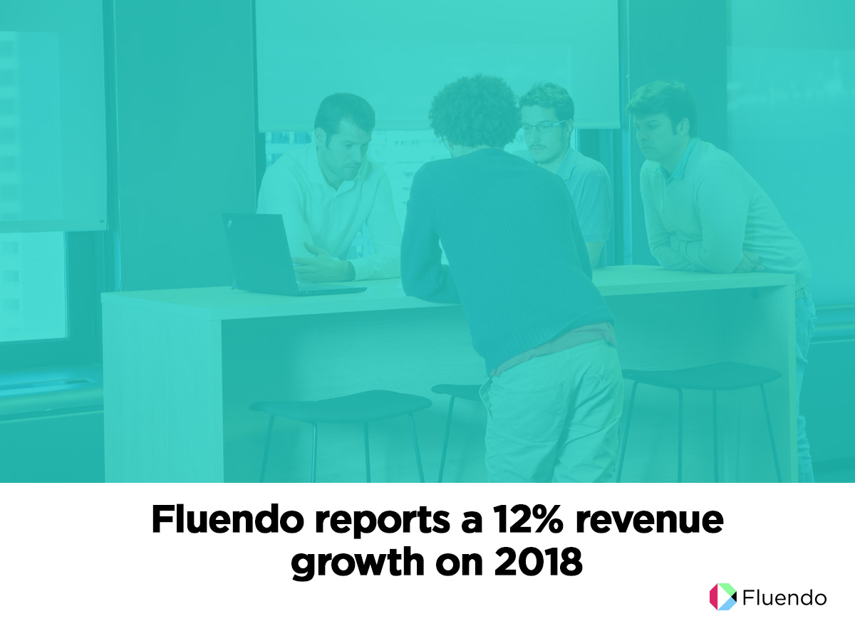 Fluendo reports a 12% revenue growth on 2018
